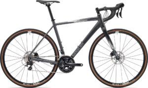 Saracen Hack In Black - 2019 Gravel Bike