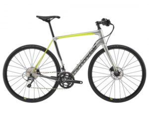 Cannondale Synapse Carbon Disc Tiagra Flatbar - Fitness Bike 2019   sage gray