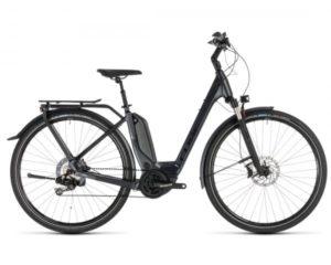 Cube Touring Hybrid SL 500 KIOX Easy Entry - Elektro Trekking Fahrrad 2019 | iridium n red