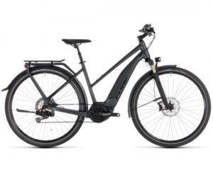 Cube Touring Hybrid SL 500 KIOX Trapeze - Elektro Trekking Fahrrad 2019 | iridium n red