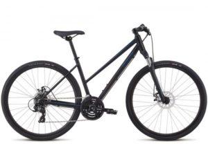 Specialized Ariel Mech Disc Step INT - Damen Cross Bike 2018 | tarmac black-chameleon