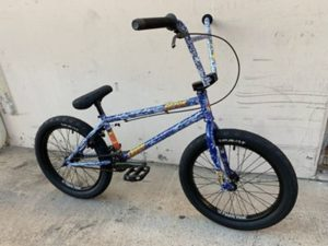 Stolen x Fiction Creature BMX Bike 2020 - Angry Sea Blue - 21""