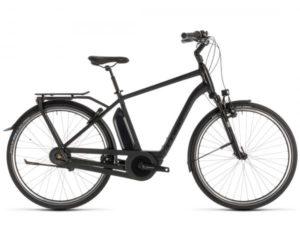 Cube Town Hybrid EXC 400 - Elektro City Fahrrad 2019 | black edition