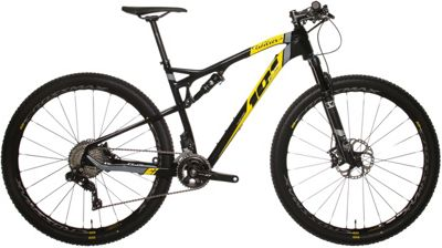 Wilier 101FX XT Di2 Mountain Bike 2018 - Black-Yellow