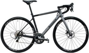 Vitus Zenium Carbon Disc Road Bike (Tiagra) 2019 - Black-Grey - XL