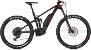 Ghost SL AMR X S7.7+ Full Suspension E-Bike 2019 - Titanium Grey - Riot Red
