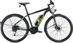 """Fuji E-Traverse 1.3+ Intl E-Bike 2019 - Satin Black - 43.5cm (17"""")"""