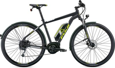 "Fuji E-Traverse 1.3+ Intl E-Bike 2019 - Satin Black - 43.5cm (17"")"