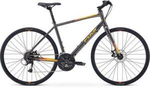 "Fuji Absolute 1.7 City Bike 2020 - Graphite - 43.5cm (17"")"