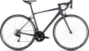 "Cube Axial WS GTC Pro Womens Road Bike 2019 - Iridium - Aubergine - 53.5cm (21"")"