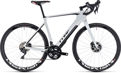 "Cube Agree Hybrid C:62 SL Disc E-Bike 2019 - White - Black - 56cm (22"")"