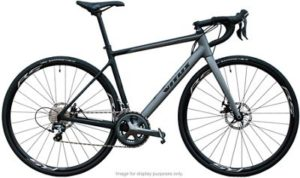 Vitus Zenium CRW Carbon Road Bike (105) 2019 - Carbon-Plum