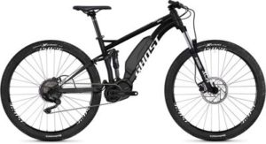 Ghost Kato S3.9 Full Suspension E-Bike 2020 - Night Black - Star White - M