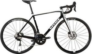 Vitus Vitesse Evo CR Disc Road Bike (105) 2019 - Black-Silver