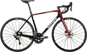 Vitus Vitesse Evo CRS Disc Road Bike (Ultegra) 2019 - Black - Red