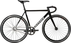 Vitus Six Track Bike 2019 - Black-Silver