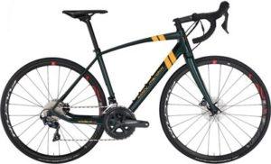 Eddy Merckx Waller73 Ultegra Mix Disc Road Bike 2019 - RacingGreen - Yellow