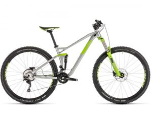 Cube Stereo 120 Pro 29 - MTB Fully 2019 | silver n green