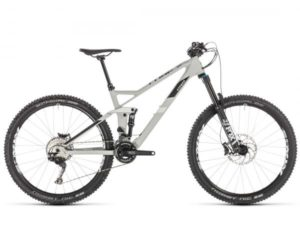 Cube Stereo 140 HPC Race 27.5 - Carbon MTB Fully 2019 | grey n white