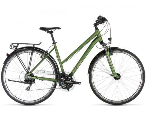 Cube Touring Trapeze - Trekking Fahrrad 2019 | green n silver