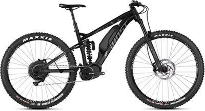 Ghost SL AMR S1.7+ Full Suspension E-Bike 2019 - Night Black - Urban Grey