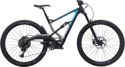 Marin Wolf Ridge 8 Full Suspension Bike 2019 - Satin Carbon - Charcoal