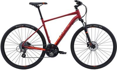Marin San Rafael DS2 City Bike 2019 - Satin Crimson - XS