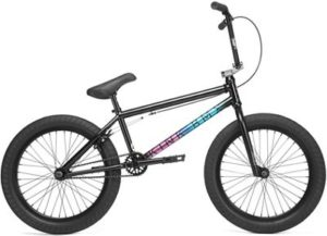 Kink Whip BMX Bike 2020 - Gloss Black Fade - 20.5""