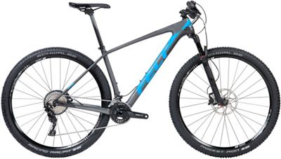 """Felt Doctrine 4 XC Carbon Hardtail Bike 2018 - Matte Charcoal-Blue-Carbon - 51cm (20"""")"""