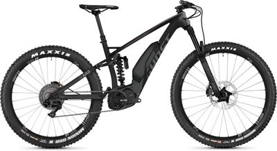 Ghost SL AMR S8.7+ Full Suspension E-Bike 2019 - Titanium Grey - Riot Red - XL