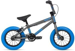 "Stolen Agent HB 12"" BMX Bike 2020 - Matte Raw-Dark Blue"