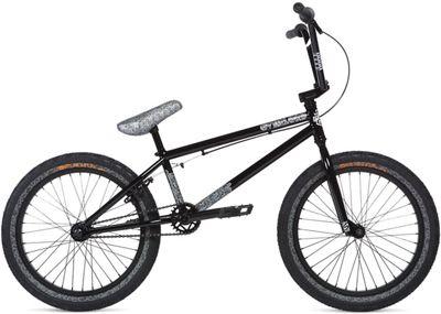"Stolen Overlord BMX Bike 2020 - Black-Reflective Grey - 20.25"""