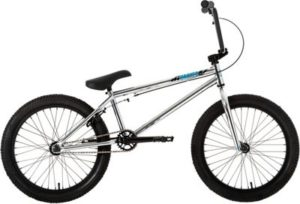 "Ruption Hacker BMX Bike 2020 - Silver - 20.5"" TT"