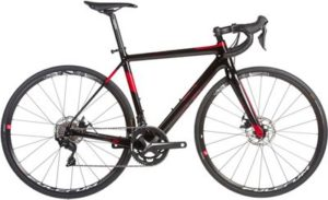 Orro Pyro Disc Evo 7000-FSA R900 Road Bike 2020 - Black - Red