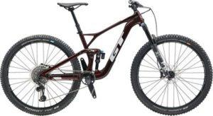 GT Sensor Carbon Pro Bike 2020 - Red Flake - Silver - M