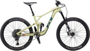 GT Force Carbon Expert 27.5 Bike 2020 - Gloss Moss - Steel Blue