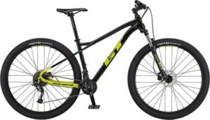 GT Avalanche Sport Bike 2020 - Black - Chartreuse Fade - XS