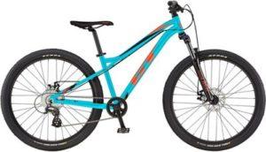"""GT Stomper Ace 26 Kids Bike 2020 - Aqua Blue - Red - 26"""""""