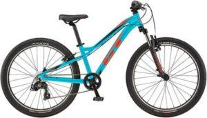 """GT Stomper Ace 24 Kids Bike 2020 - Aqua Blue - Red - 24"""""""