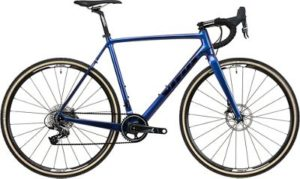 Vitus Energie CRX Cyclocross Bike (Force) 2020 - Blue Chameleon - Black - XL