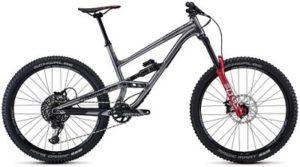 Commencal Clash Race Suspension Bike 2020 - Grey - Red