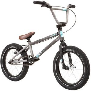 "Fit Misfit 16"" BMX Bike 2020 - Matte Clear - 16.5"""