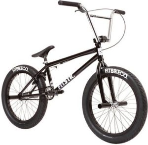 Fit STR BMX Bike 2020 - Gloss Black - 20.5""