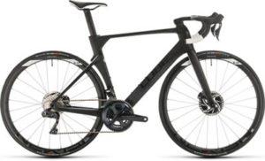 "Cube Litening C:68X Pro Road Bike 2020 - Carbon - White - 53cm (21"")"