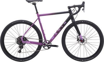 "Marin Cortina AX2 Cyclocross Bike 2019 - Black - Purple - 49.5cm (19.5"")"