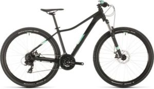 "Cube Access WS 27.5 Womens Hardtail Bike 2020 - Black - Mint - 33cm (13"")"