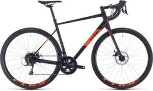 "Cube Attain Pro Road Bike 2020 - Black - Orange - 50cm (19.75"")"