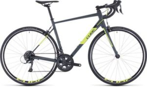 "Cube Attain Road Bike 2020 - Grey - Flashyellow - 50cm (19.75"")"
