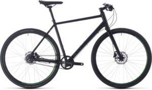 """Cube Hyde Race Urban Bike 2020 - Black - Green - 54cm (21"""")"""