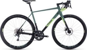 "Cube Nuroad Pro Road Bike 2020 - Black - Sharpgreen - 58cm (22.75"")"